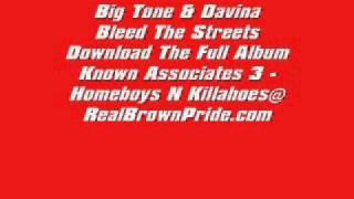 Big Tone & Davina   Bleed The Streets