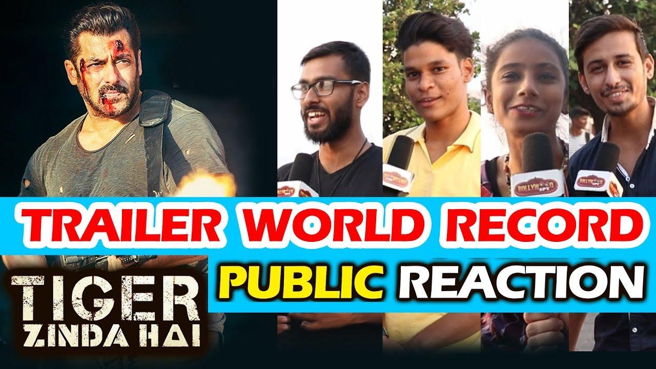 salman s tiger zinda hai trailer makes world record public reaction