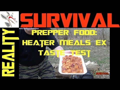 Prepping Food Heater Meals EX From The Ready Store