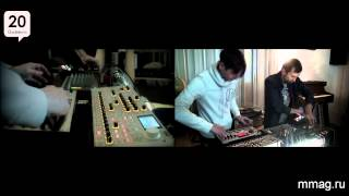 mmag.ru: musicmaglive - jam session from musicmag synth room galernaya 20