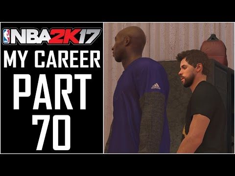 "NBA 2K17 - My Career - Let's Play - Part 70 - ""Big News From Denver, Kobe Visits"""