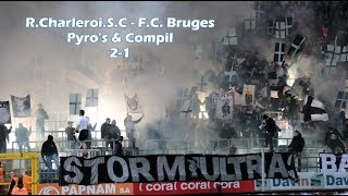 R.Charleroi.S.C. - F.C. Bruges 2-1 Pyro's & compil By Julien Trips Photography