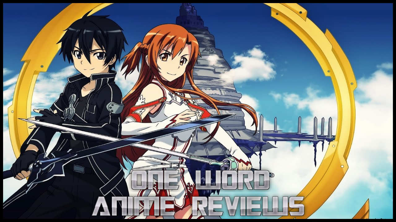one word anime review sword art online youtube