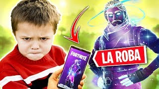 CHILD RAT ROBA THE *SKIN GALAXY* TROLLEOS IN FORTNITE #5