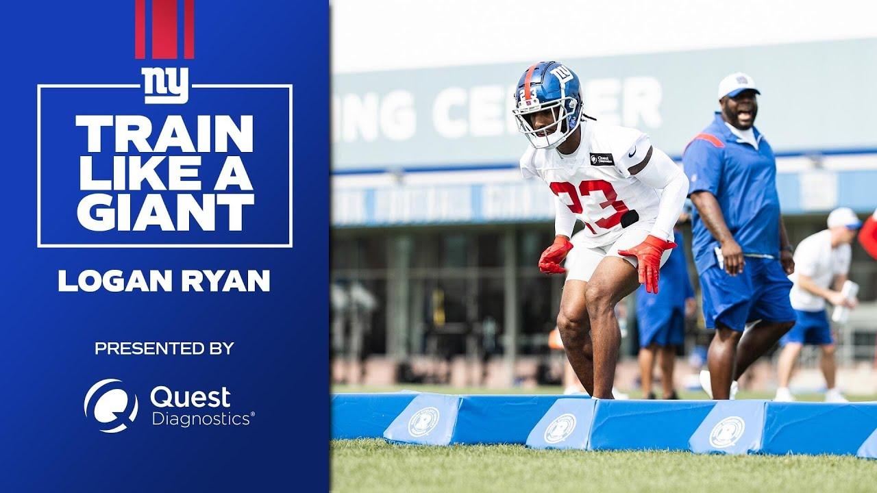 Train Like a Giant: Logan Ryan   New York Giants