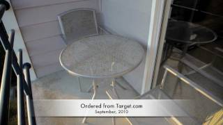 Warning About Target.com Patio Furniture