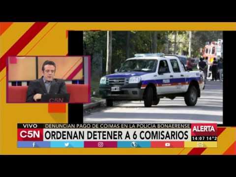 C5N - Policiales: Ordenan detener a seis comisarios por pago de coimas
