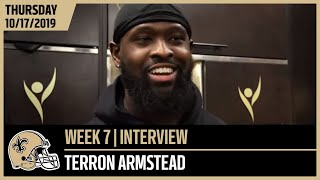 Terron Armstead on Bears Defense Ahead of Week 7 | New Orleans Saints Football