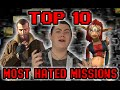 My Top 10 Most Hated Missions in Video Games - Square Eyed Jak