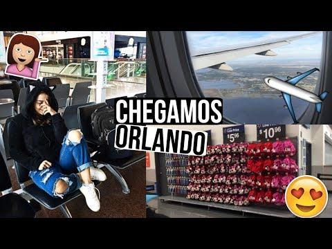 CHEGAMOS EM ORLANDO, PARAMOS NO HOTEL ERRADO, TOUR PELO HOTEL E WALMART ♥ - Bruna Paula