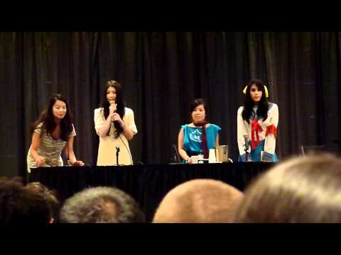 Minori Chihara introduces Haruhi Movie at New York Anime Fest 2010