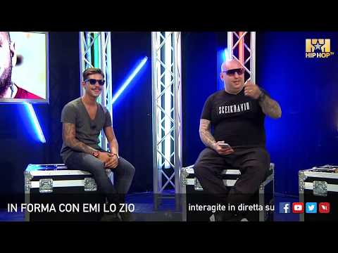 EMI LO ZIO E MORENO LIVE SU HIP HOP TV 🎧💣📲  IN FORMA CON EMI LO ZIO CON TEDUA