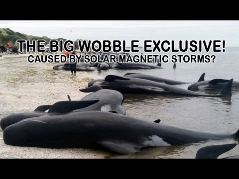 Exclusive! Coronal Magnetic Storms, Whale Beachings, Fukushima & Floods. The Big Wobble 4/3/17
