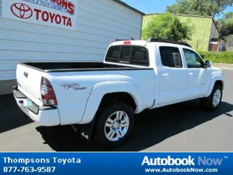2012 Toyota Tacoma W Trd Upgrade Package Double Cab Sport
