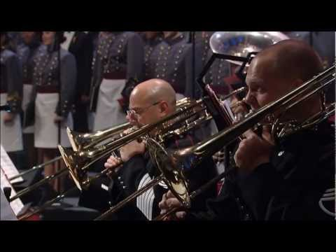 """AMERICA THE BEAUTIFUL""  performed by Marina Arsenijevic with the West Point Glee Club and Band"