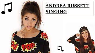 andrea russett singing compilation