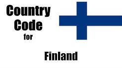Finland Dialing Code - Finn Country Code - Telephone Area Codes in Finland