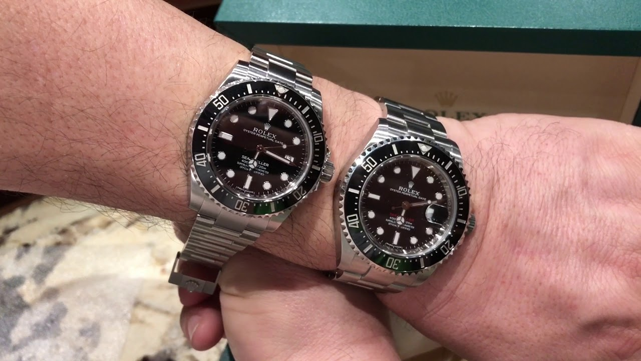 The 43mm Red Sea Dweller 50th Anniversary Versus The Limited Production 116600 Sea Dweller