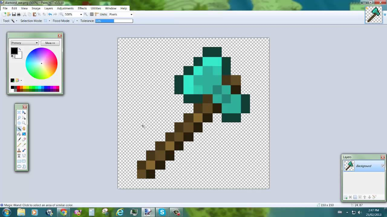 How To Make The Background Transparent In Paint Net