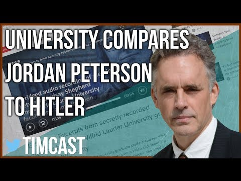 TEACHING ASSISTANT PUNISHED FOR SHOWING JORDAN PETERSON VIDEO
