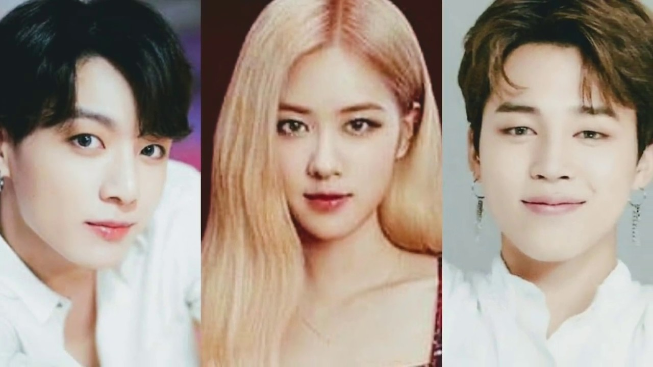 Jimin x Rosé x Jungkook (BTS x BLACKPINK) Jirose or Rosekook?
