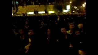 Crowd at Rav Elyashiv's Levaya