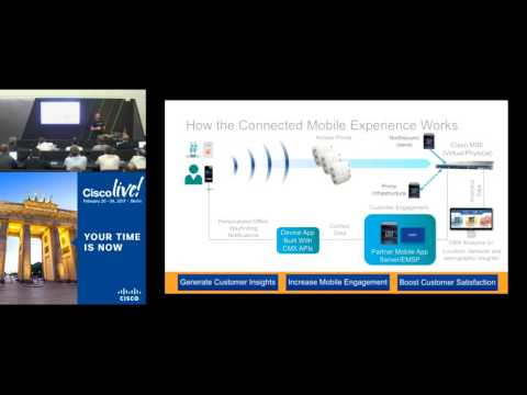 Using Cisco Connected Mobile Experiences CMX to Deliver Blue