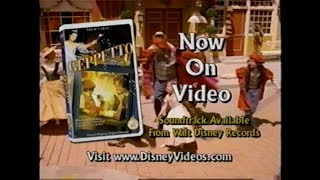 GEPPETTO MOVIE TRAILER [VHS] 2000