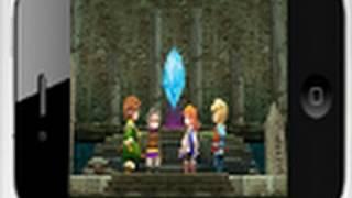 Final Fantasy 3 For iPhone, iPod & iPad Finally Here! Better Graphics & Nostalgic GJ SQUARE ENIX!