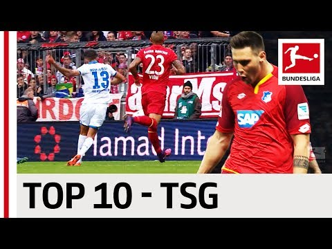 Top 10 Goals - TSG 1899 Hoffenheim - 2016/17 Season