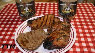 Tastefully Done Wild Game Marinade Review~grilled Beef Steak Pork Chops And Chicken Thighs
