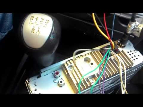Подключение проводки магнитолы Pioneer MVH-08UB на приоре