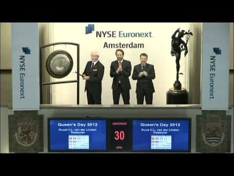NYSE Euronext Amsterdam Celebrates the Queen