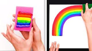 당신의 기분을 좋게 만들어 줄 놀라운 미술 기법 33가지