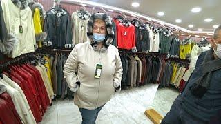 ШОППИНГ в Турции Все ПЕРЕМЕРИЛА Купила себе КОЖАННУЮ куртку большого размера Влог