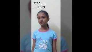 Amazing Talent !!! A 10 yr kid repeating any word in reverse within 2 sec