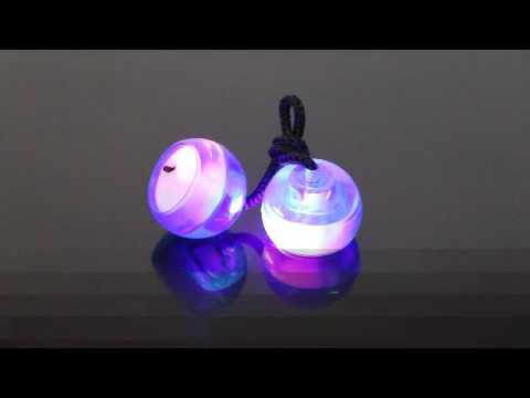 LED Light Up Finger Balls