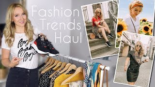 SOMMER zu HERBST Fashion TRENDS Try On HAUL - TheBeauty2go