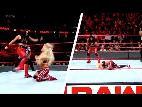 Brie Bella KNOCKS OUT Liv Morgan On WWE Raw