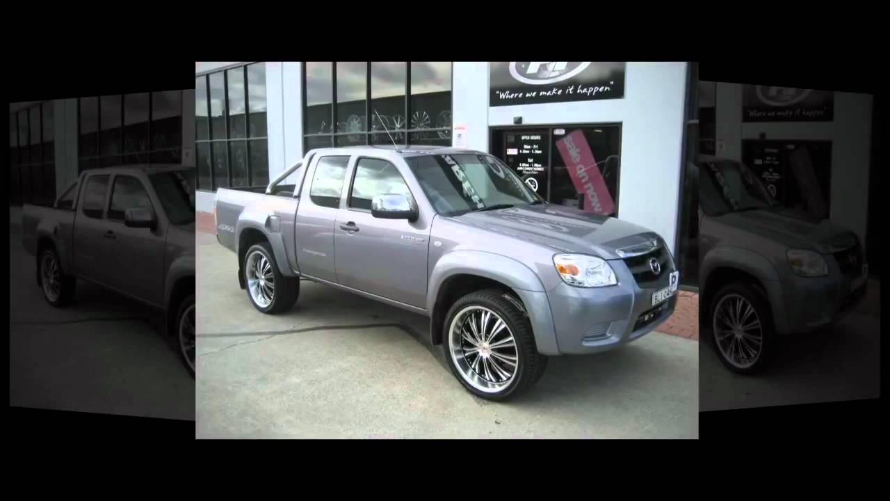 F1 Wheel Amp Tyre Mazda Bt50 4x4 Rolling 20inch Custom Rims Xhp Wheels Youtube