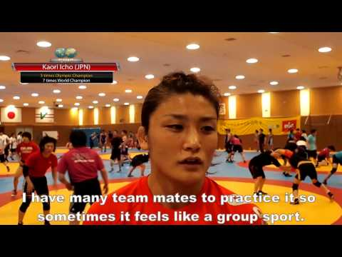 Athlete Role Model Q&A - Kaori ICHO (JPN) - Nanjing 2014 YOG