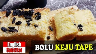 BOLU KEJU TAPE | TAPE CHEAP BREAD By Yani Cakes #154