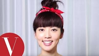 短髮阿諾也能綁出包子頭 | 女星請分享  | VOGUE