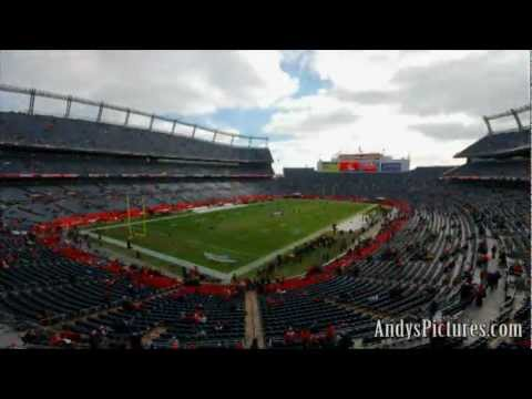 NFL Time Lapse: Sports Authority Field at Mile High (corner view)