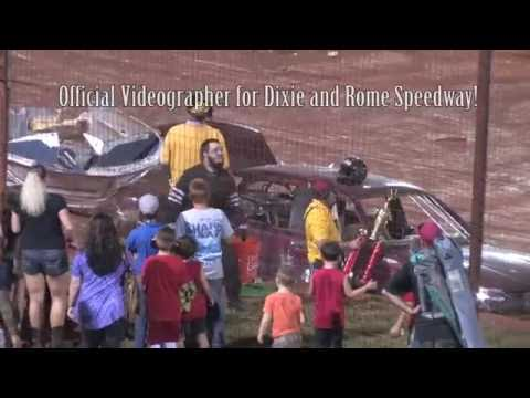 Dixie Speedway 9/17/16 Waterless Boat Race! Feel free to tag and share this Video! Mitchell Jenkins, Official Videographer for Dixie and Rome Speedway! - dirt track racing video image