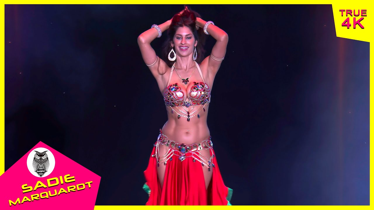 Download Sadie Marquardt EPIC bellydance performance in The Massive Spectacular! (2020) 4K