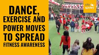 Fitness awareness event organised at Dwarka