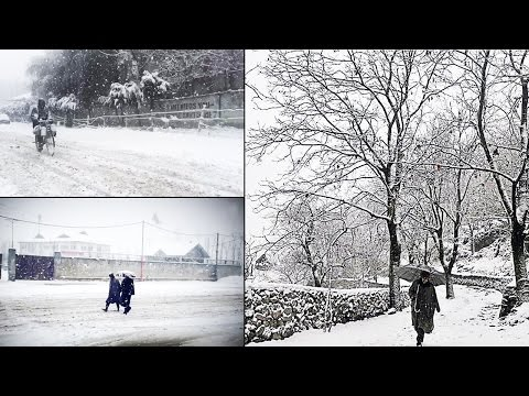 Watch | Kashmir's stunning video of snowfall in slow-mo