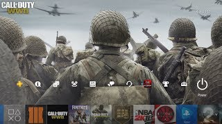 How to Download the Call of Duty: World War 2 Secret Theme for the PS4!