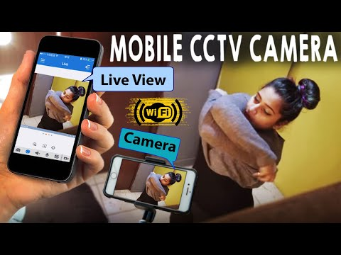 Use Your Any Phone As A CCTV Camera or As A Webcam